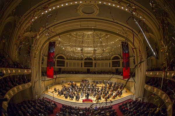 Posted by Chicago Symphony Center - A Venue professional