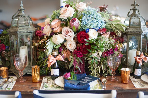 Posted by Kio Kreations - A Design/Decor/Floral professional