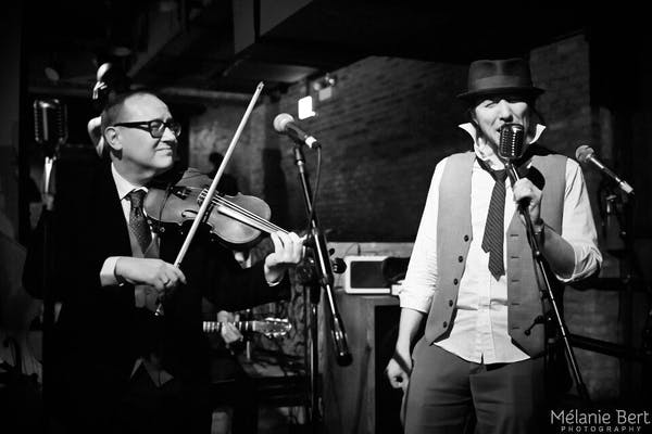 Posted by Bowmanville Gypsy Jazz Band - A Entertainment professional