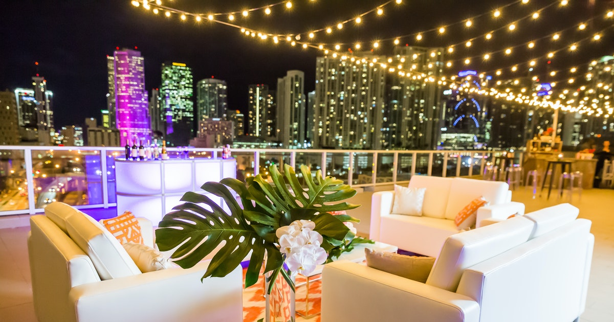Penthouse At Riverside Wharf Miami Venue 267 Photos On