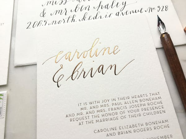 Posted by Allie Hasson - A Invitations & Print professional