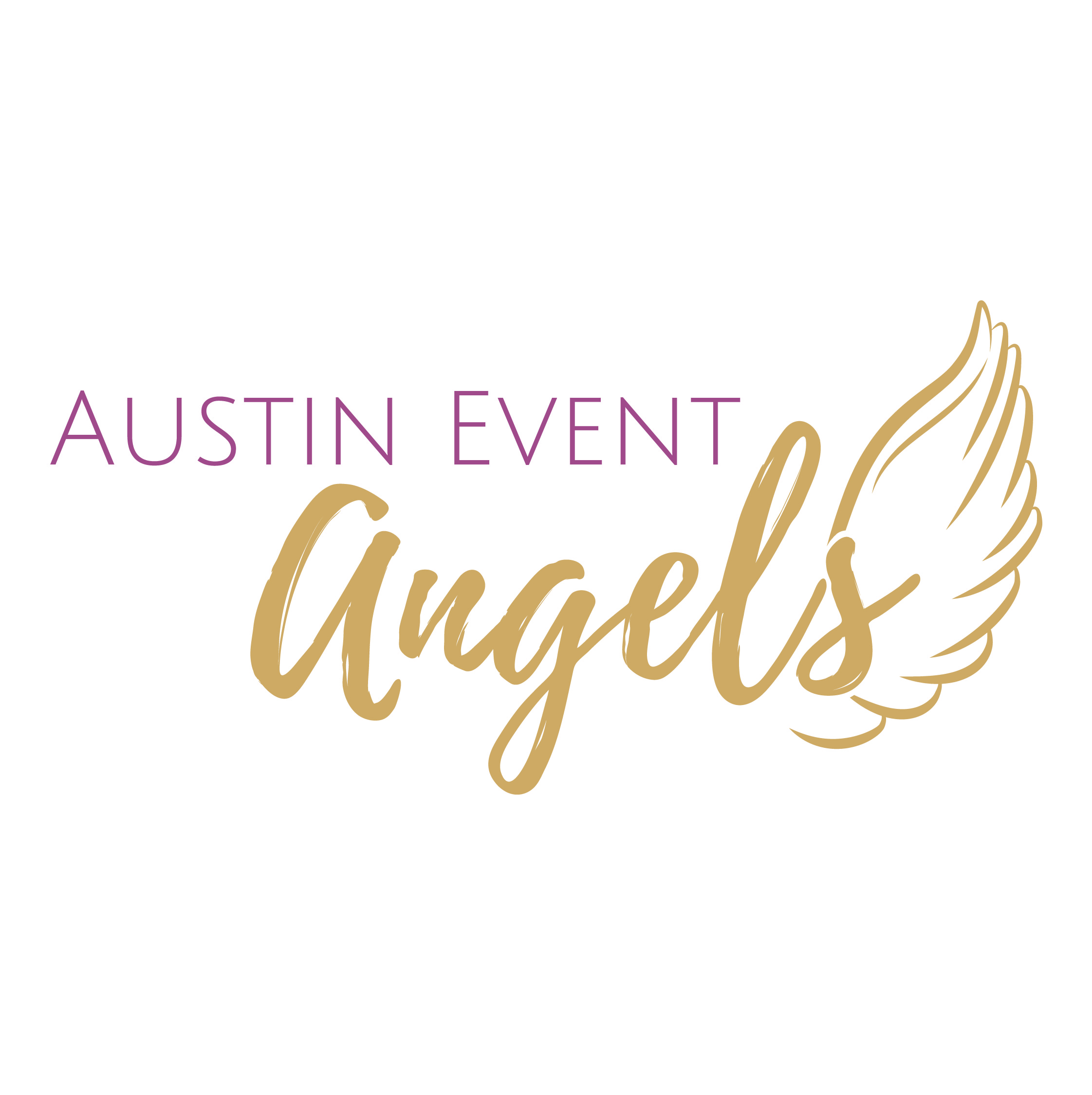 Romantic Outdoor Peach Wedding - Austin Event Angels