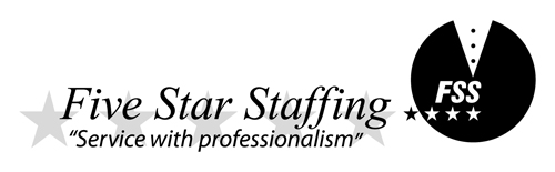 Five Star Staffing - Event and Catering Staff - Five Star Staffing - Event and Catering Staff