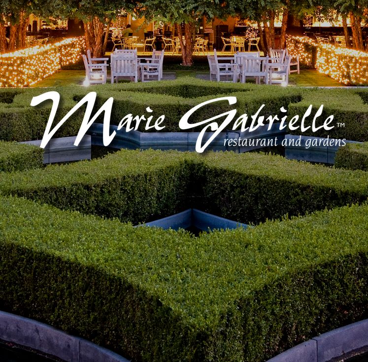 A Serene Setting - Marie Gabrielle Restaurant & Gardens