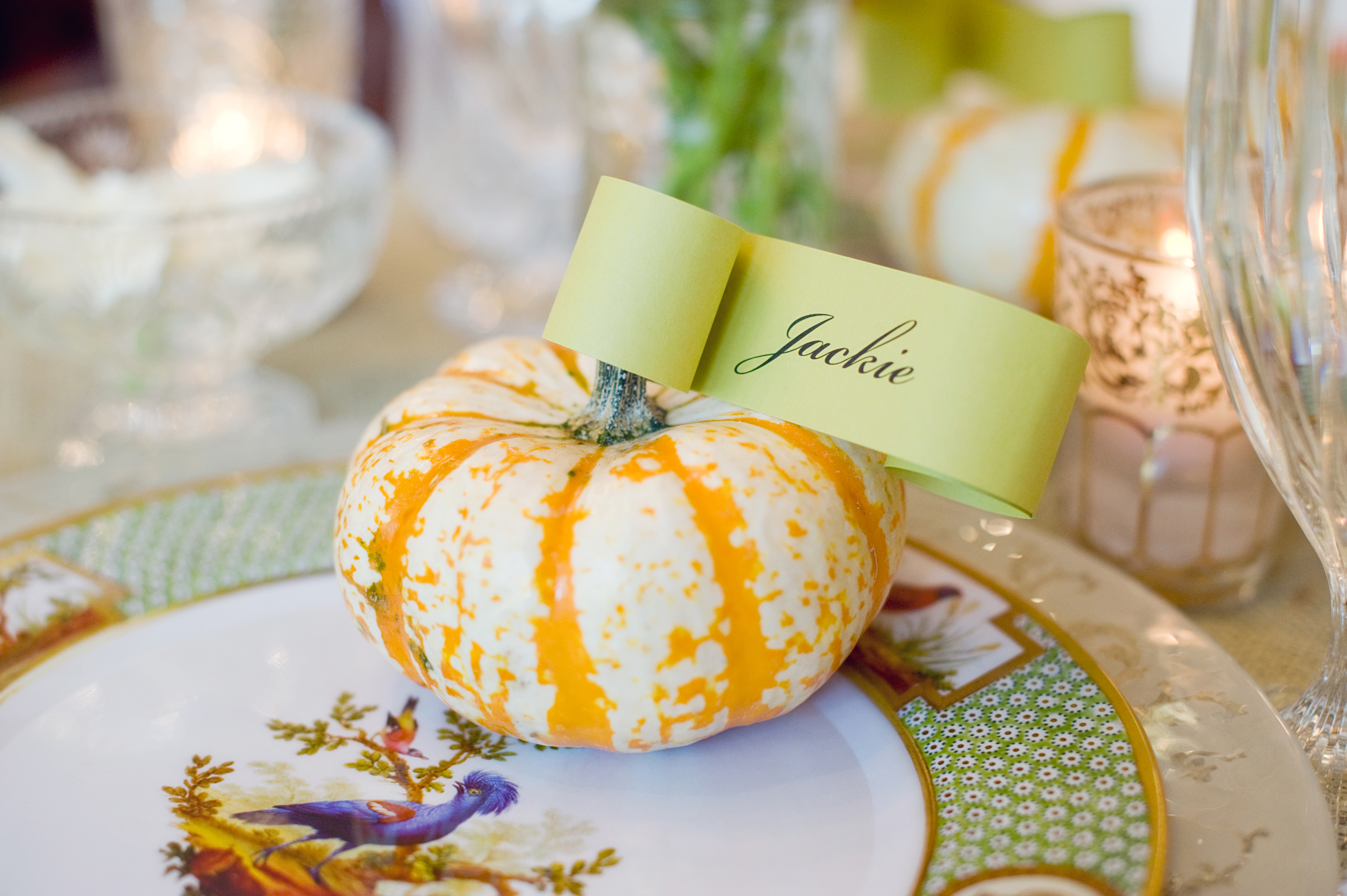Contemporary Thanksgiving Dinner Party - A Perfect Event