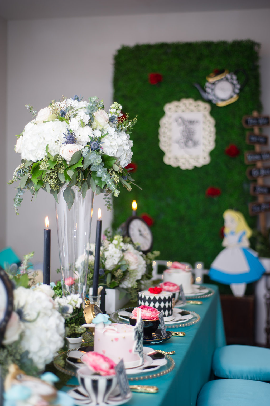 Alice In Wonderland Styled Shoot - Nicole Marie Events
