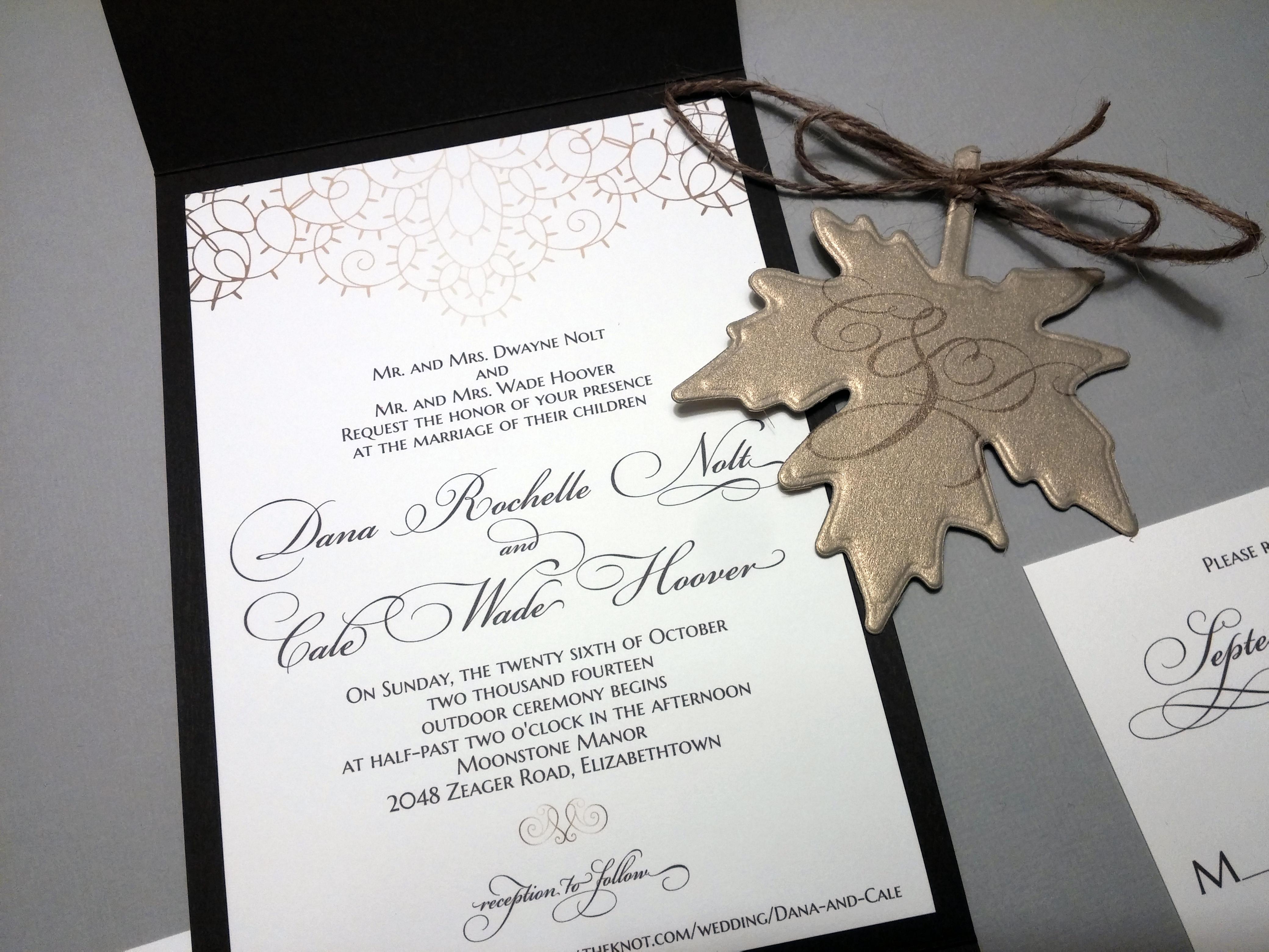 Invitations by Chrissy | Wedding Stationery | PartySlate