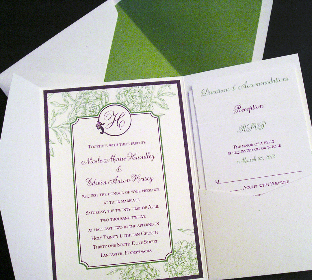 Invitations by Chrissy | Wedding Stationery | PartySlate