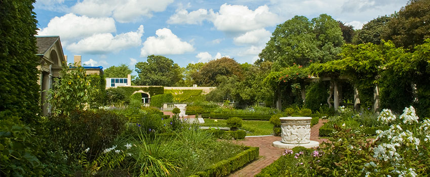 The Italianate Terrace Garden - The George Eastman Museum