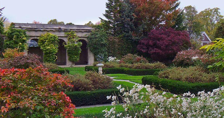 The West Garden - The George Eastman Museum