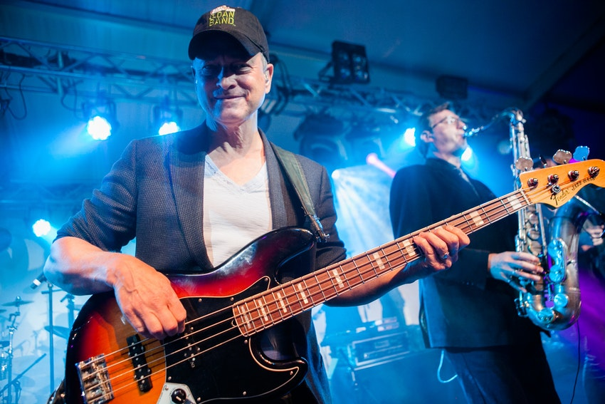 Steppenwolf Co-Founder Gary Sinise plays with his Lt. Dan Band.
