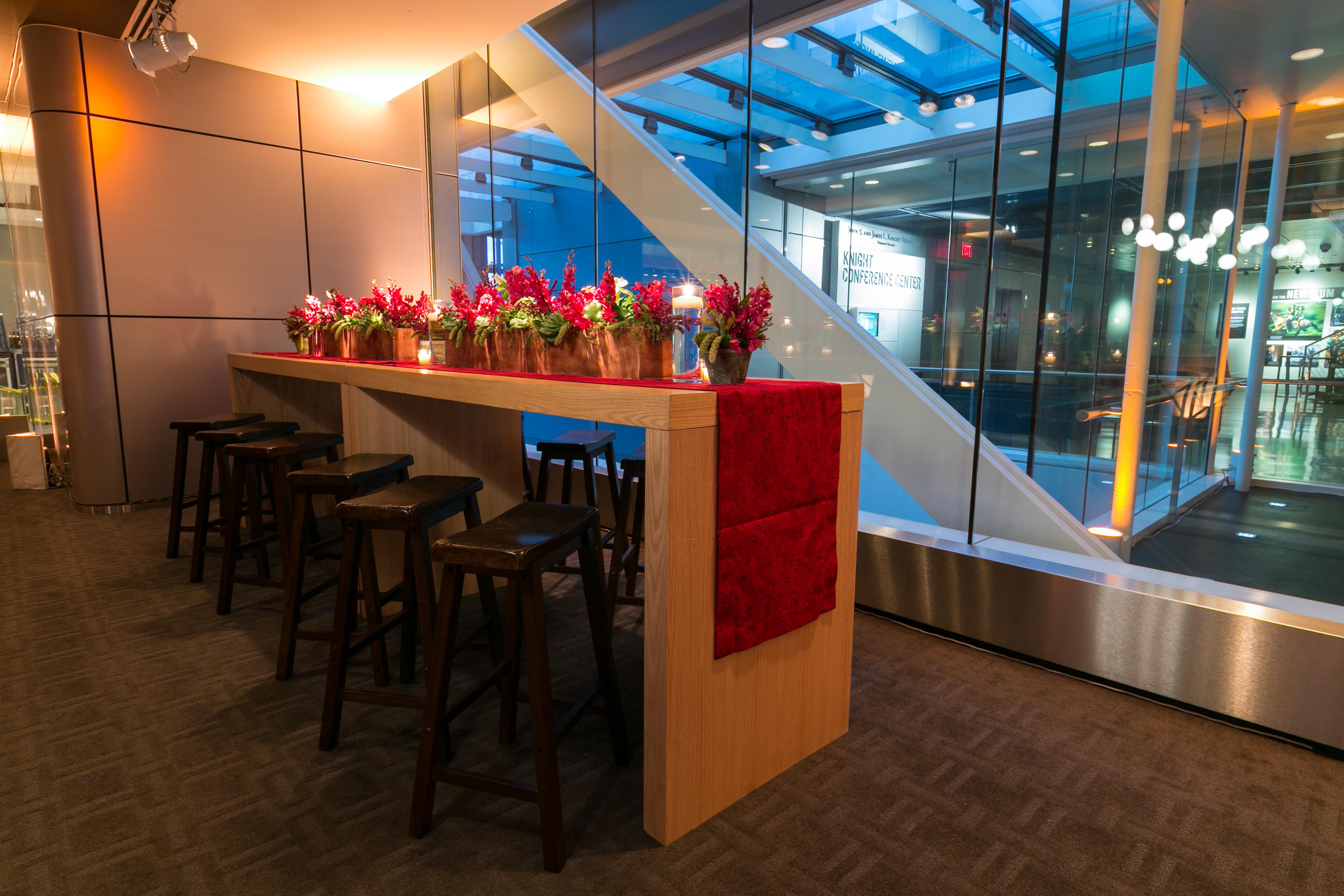 Red & Blue Baseball Theme Bar Mitzvah - Magnolia Bluebird design & events