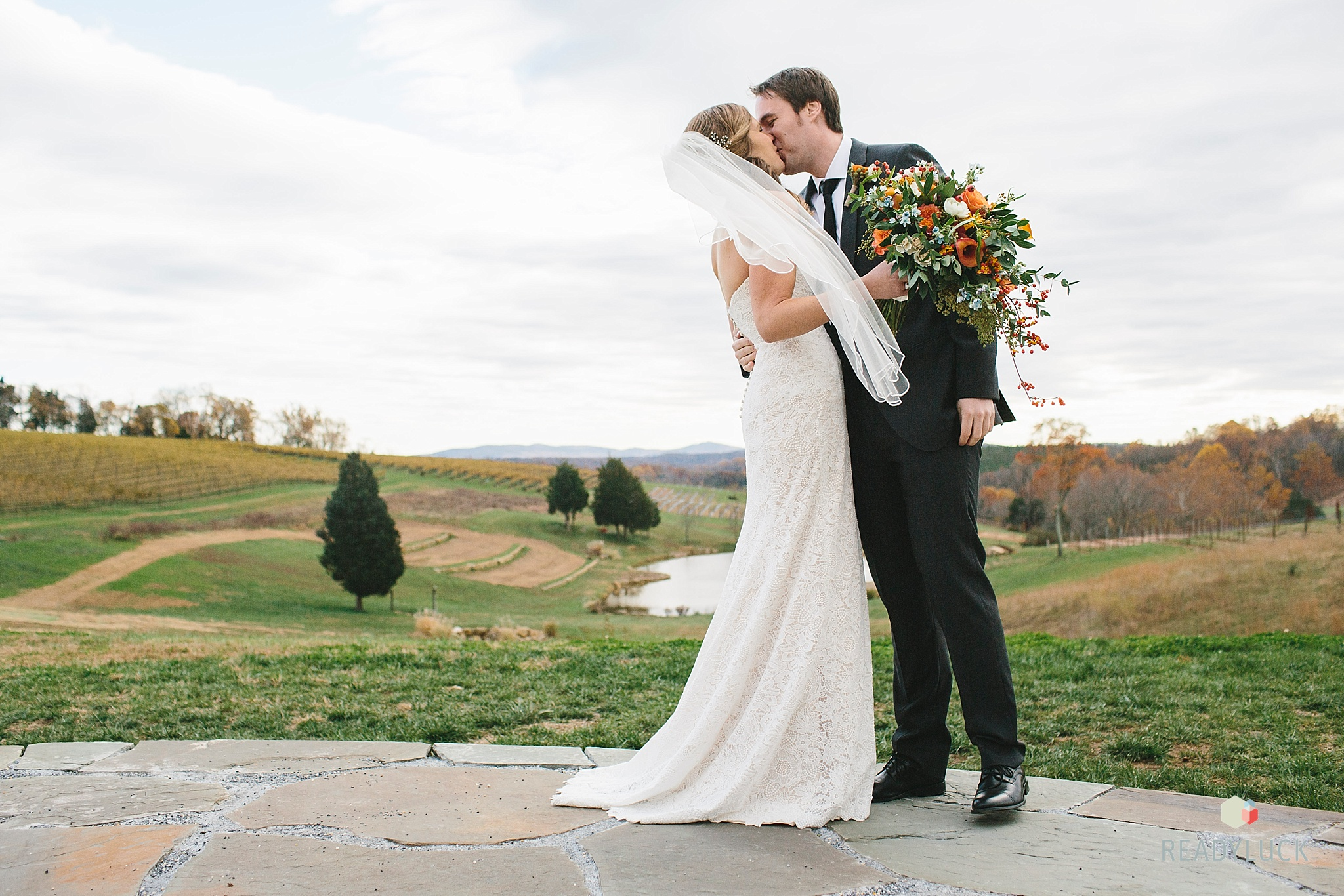 Darcy + Chris Vineyard Wedding - Magnolia Bluebird design & events