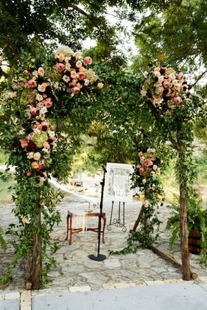 Texas Wine Country Wedding - Great Events