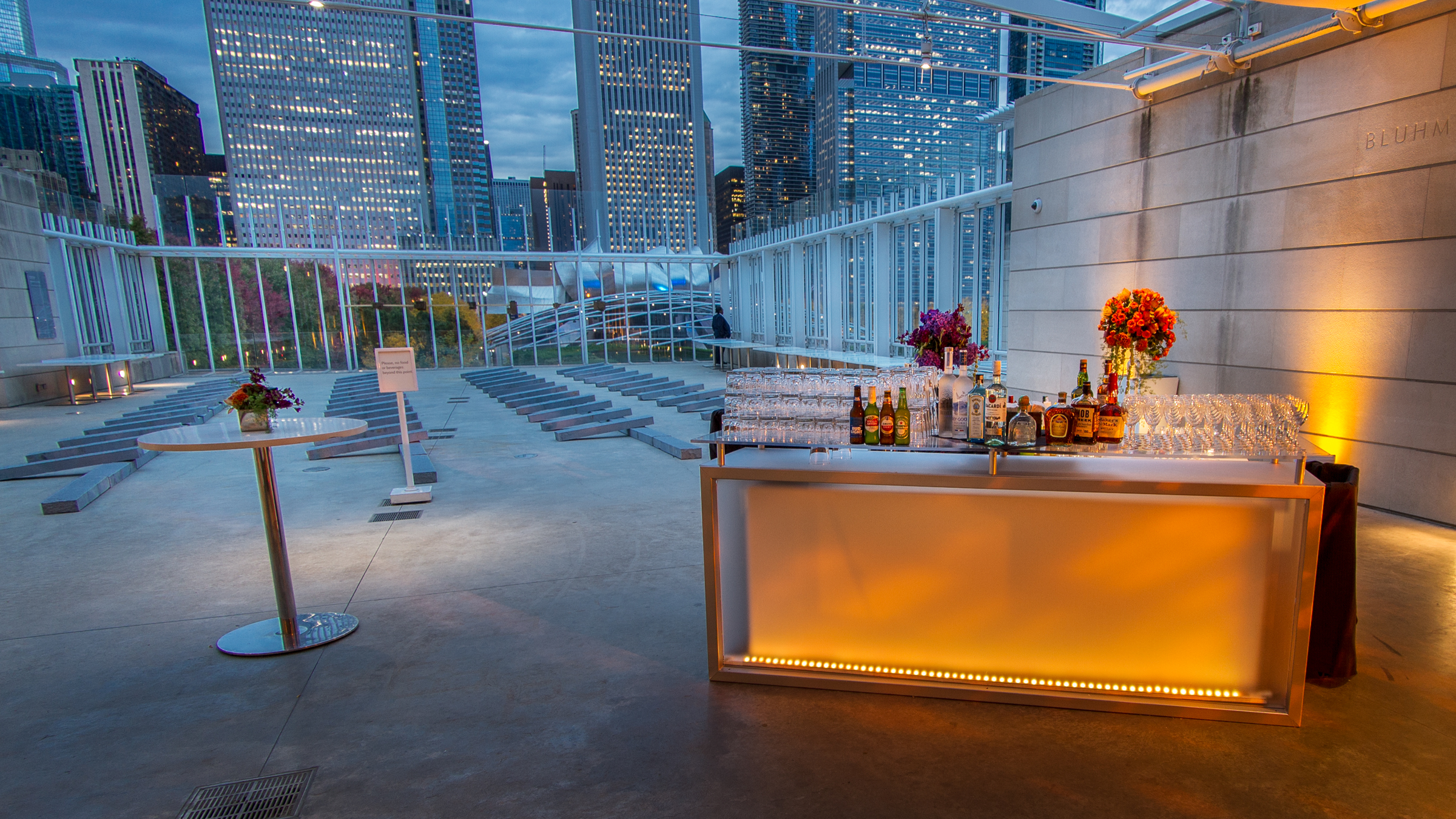 CORPORATE PARTY AT THE ART INSTITUTE OF CHICAGO - Kehoe Designs