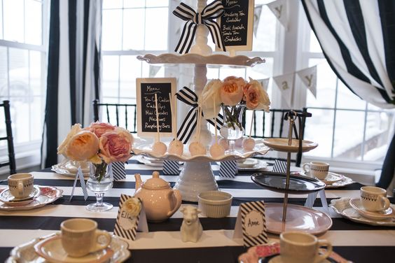 Parisian Tea Party - Wrap It Up Parties