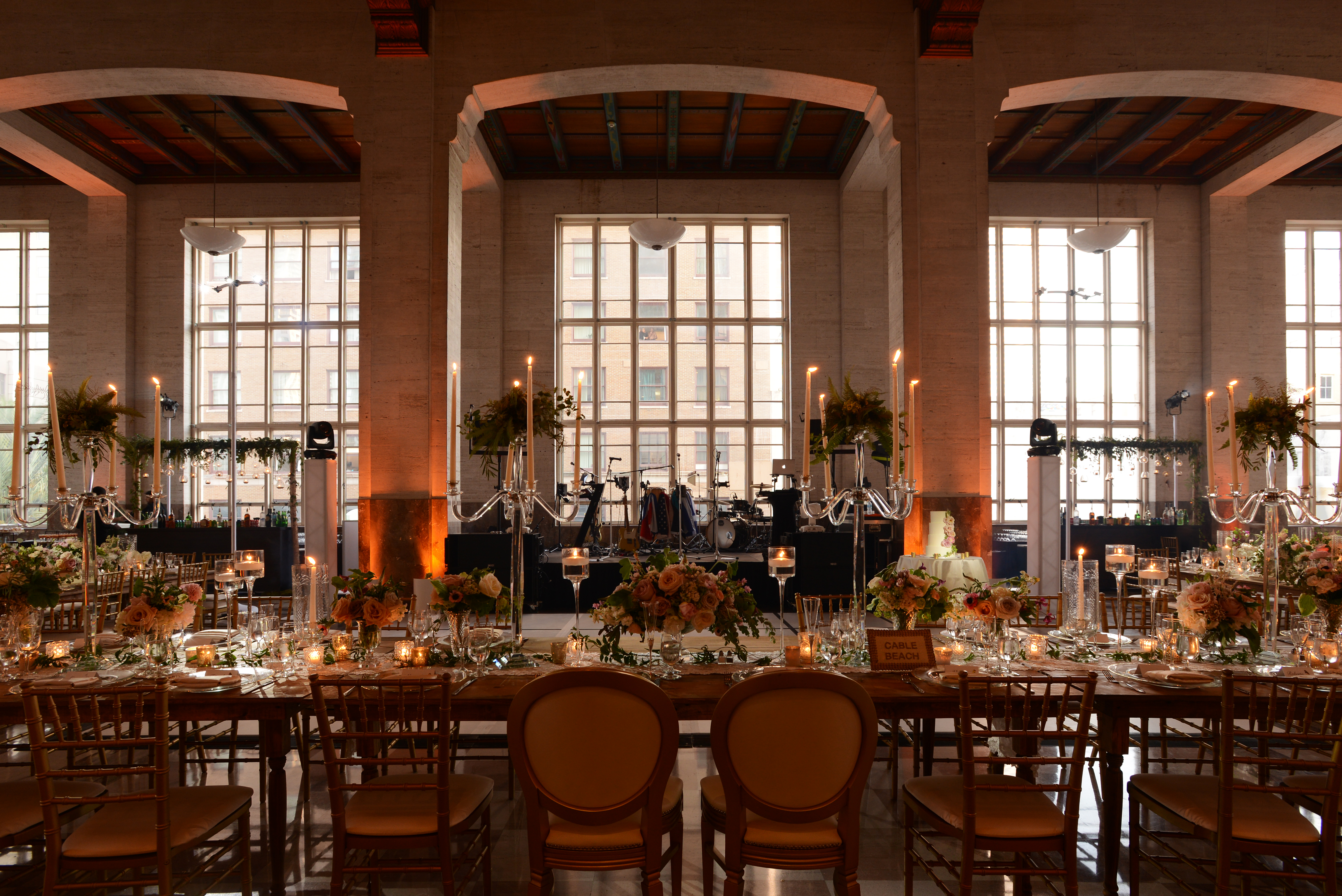 Romantic Indoor Garden Wedding - The Historic Alfred I. Dupont Building