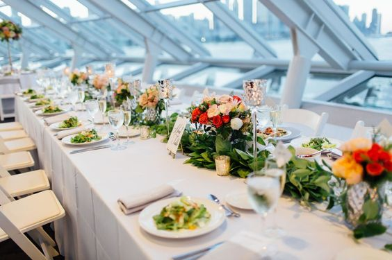 Whimsical Wedding at Adler Planetarium. Partial Planning by Wrap It Up Parties.