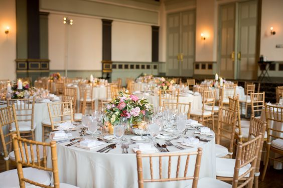 Bright and Cheery Fall Wedding at Germania Place. Partial Planning by Wrap It Up Parties.