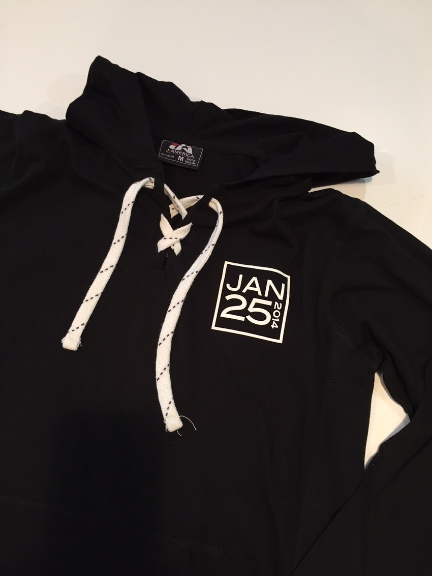 Giveaway lace up hoodie