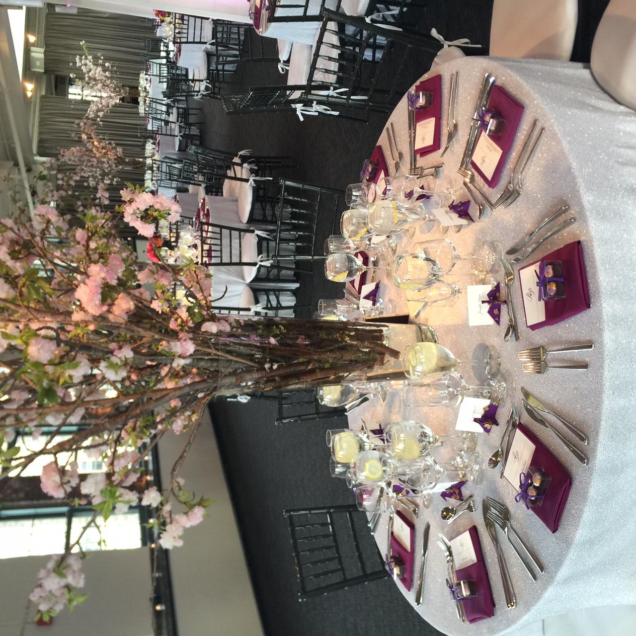 Scenic Wedding at Tribeca Rooftop in New York - Kleifield Design & Associates, Inc.