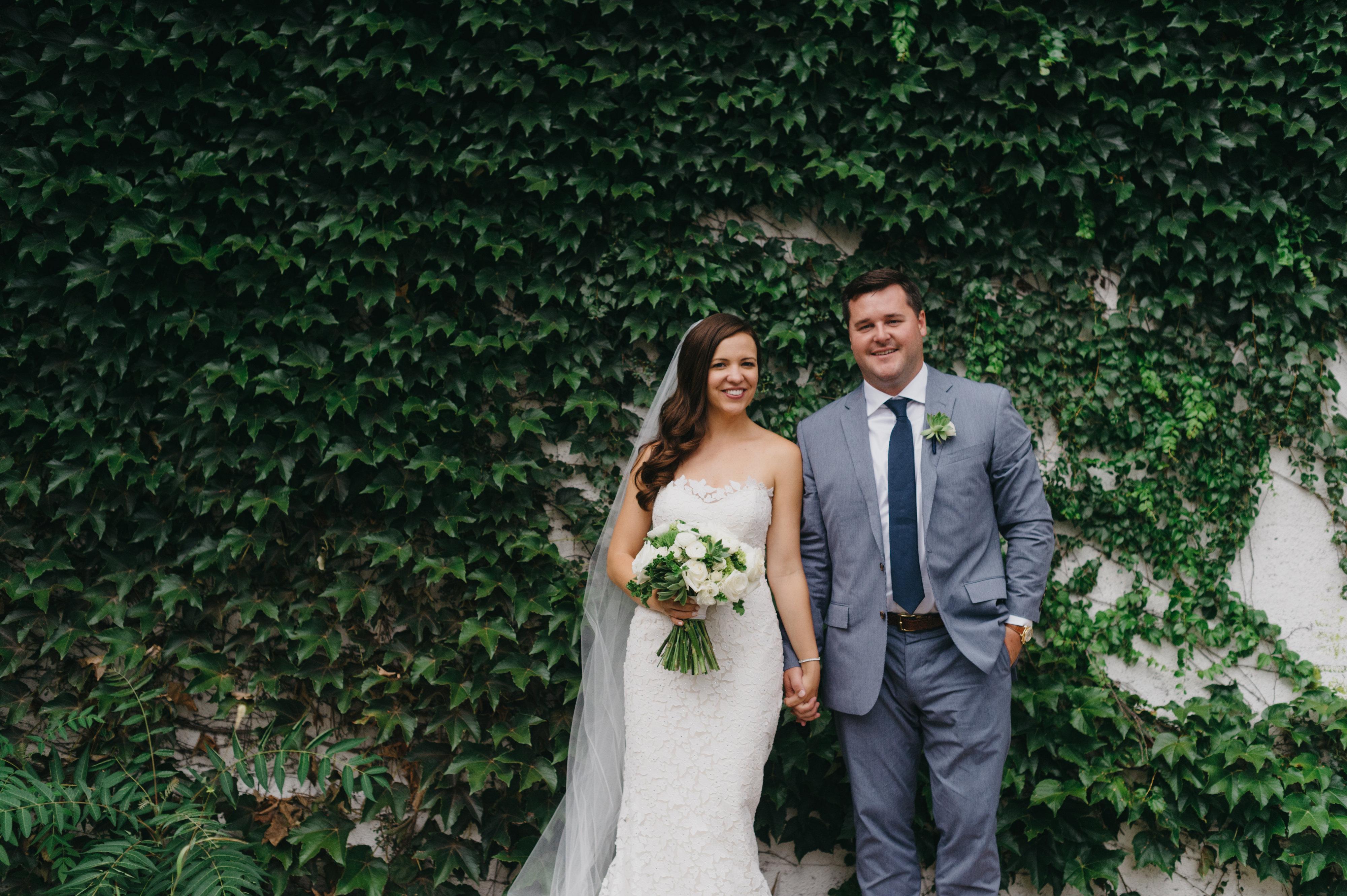 Morgan Manufacturing Wedding by La Belle Fleur Events.
