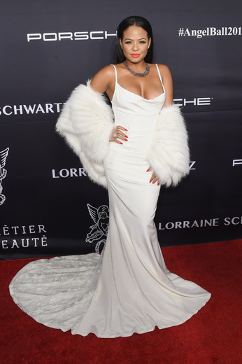 Christina Milian attends the 2016 Angel Ball hosted by Gabrielle's Angel Foundation For Cancer Research on November 21, 2016 in New York City.