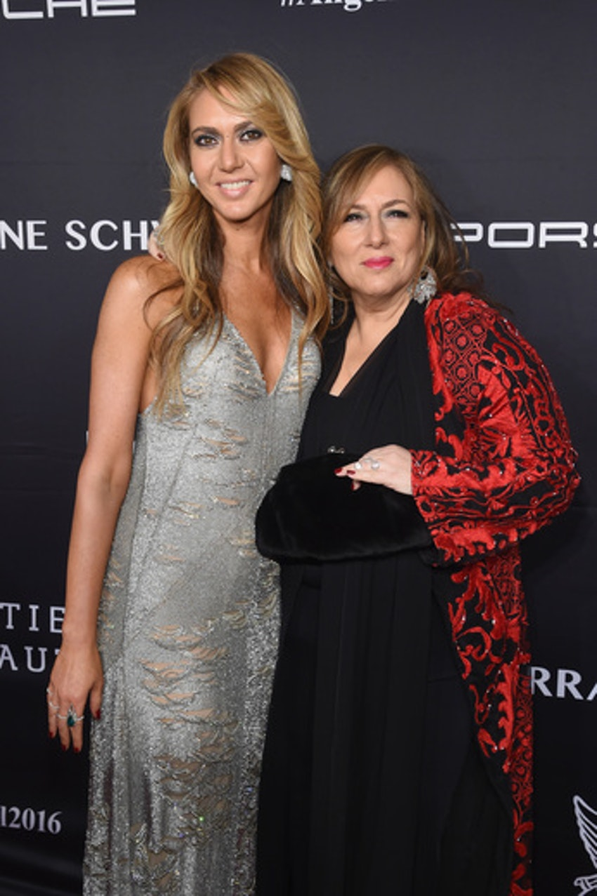 Gala Chair Lorraine Schwartz and Ofira Sandberg attend the 2016 Angel Ball hosted by Gabrielle's Angel Foundation For Cancer Research on November 21, 2016 in New York City.