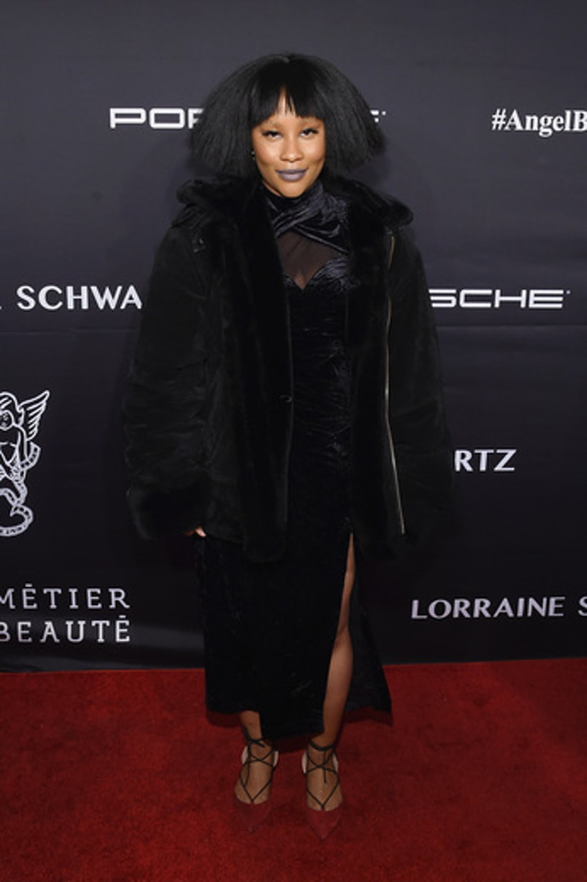 Zuri Marley attends the 2016 Angel Ball hosted by Gabrielle's Angel Foundation For Cancer Research on November 21, 2016 in New York City.