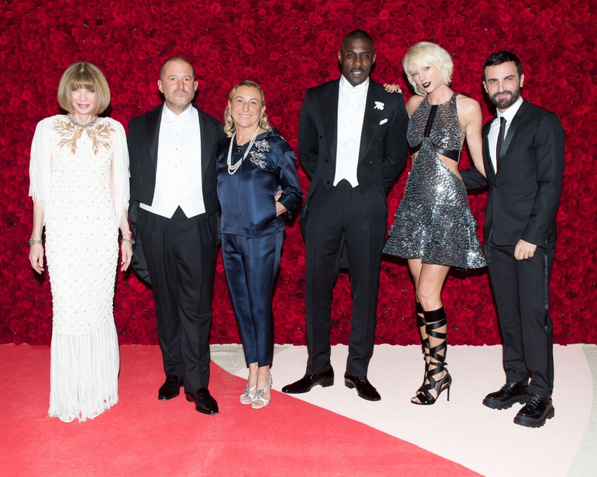 Anna Wintour, Jony Ive, Miuccia Prada, Idris Elba, Taylor Swift, Nicolas Ghesquiè