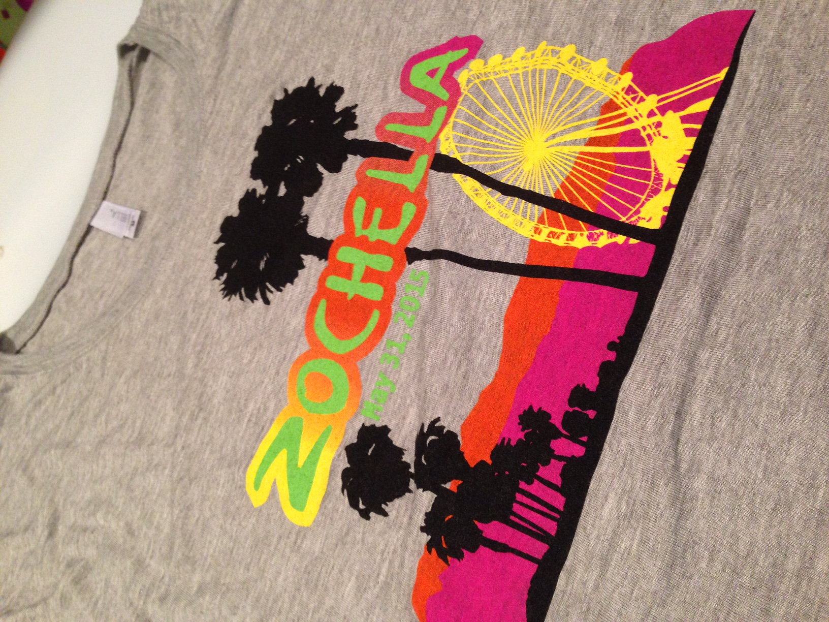 Coachella themed Bat Mitzvah at Michigan Shores - Kleifield Design & Associates, Inc.