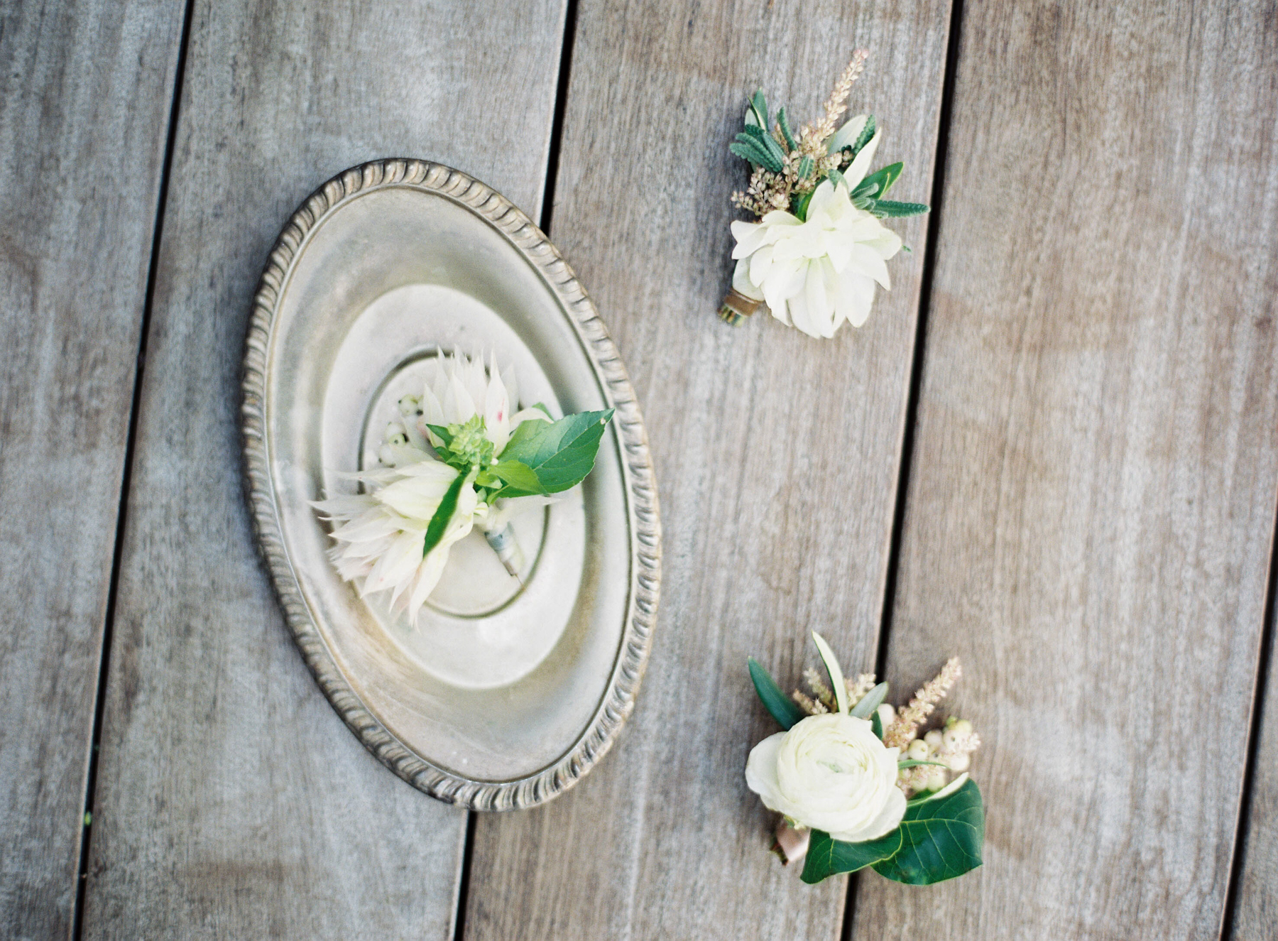 Romantic Blush, Ivory and Green Wedding - Olive Willow Designs