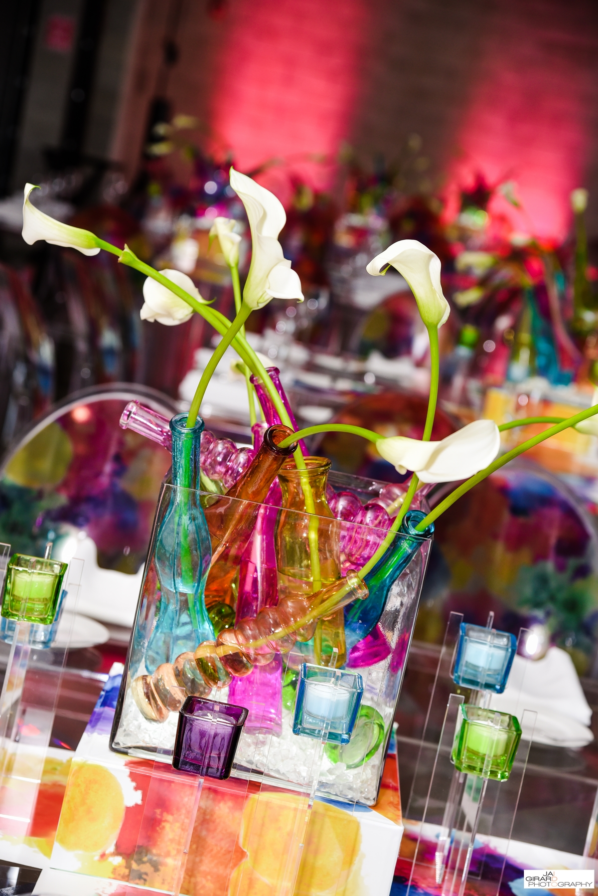 Water Color Bat Mitzvah - Epic Events