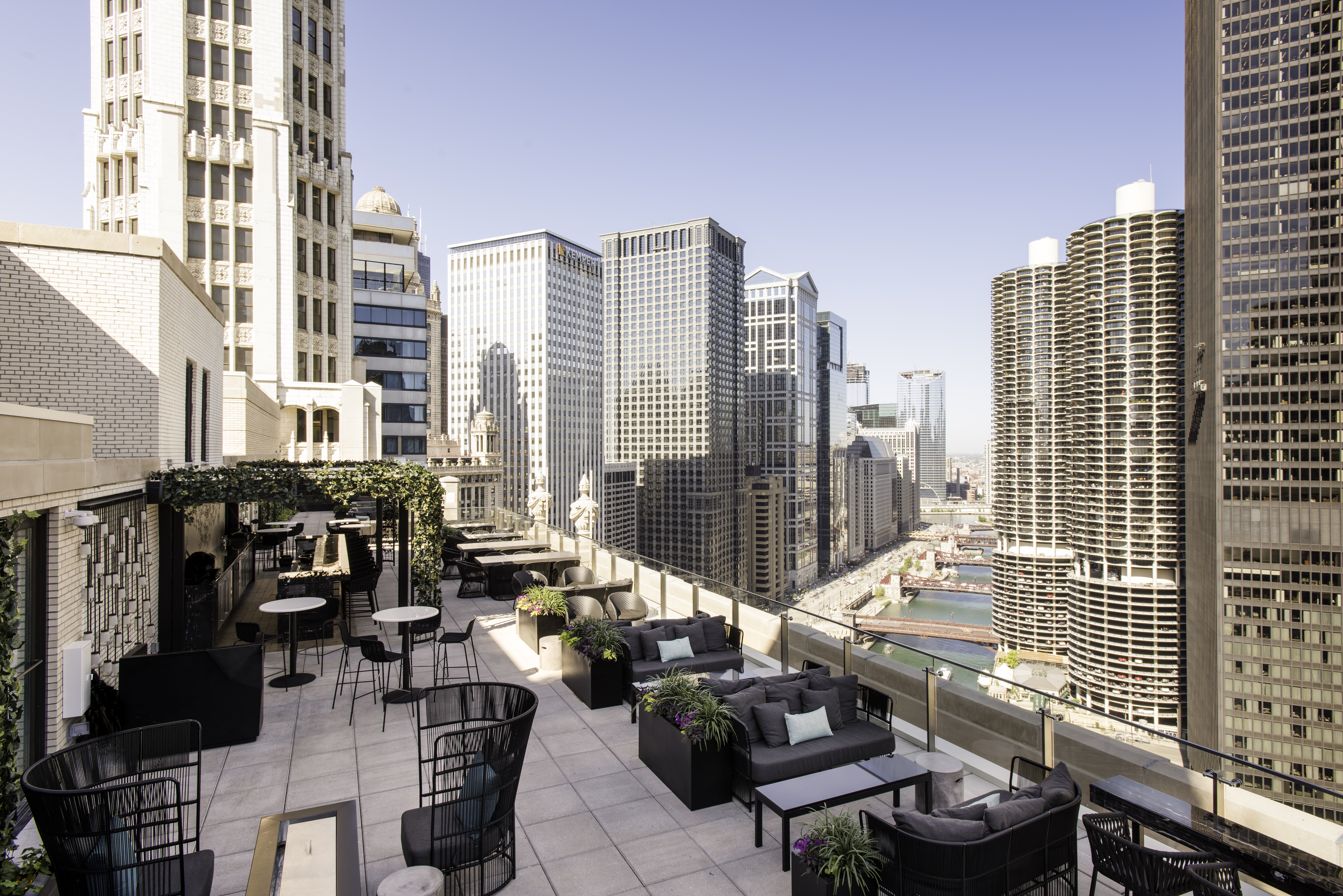 LH Tri-Level Rooftop - LondonHouse Chicago