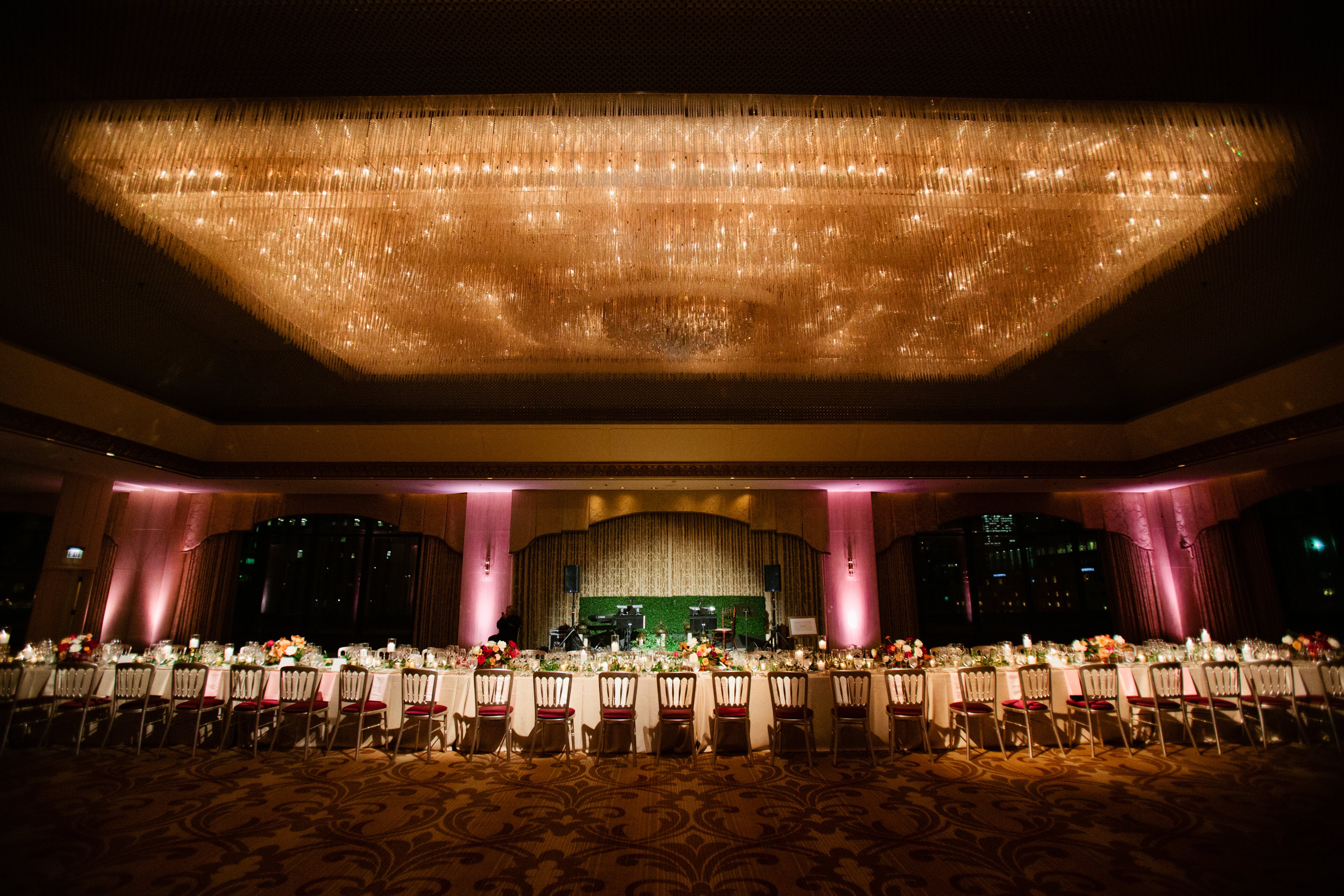 Ombre Dinner Party at The Ritz - Hello Darling