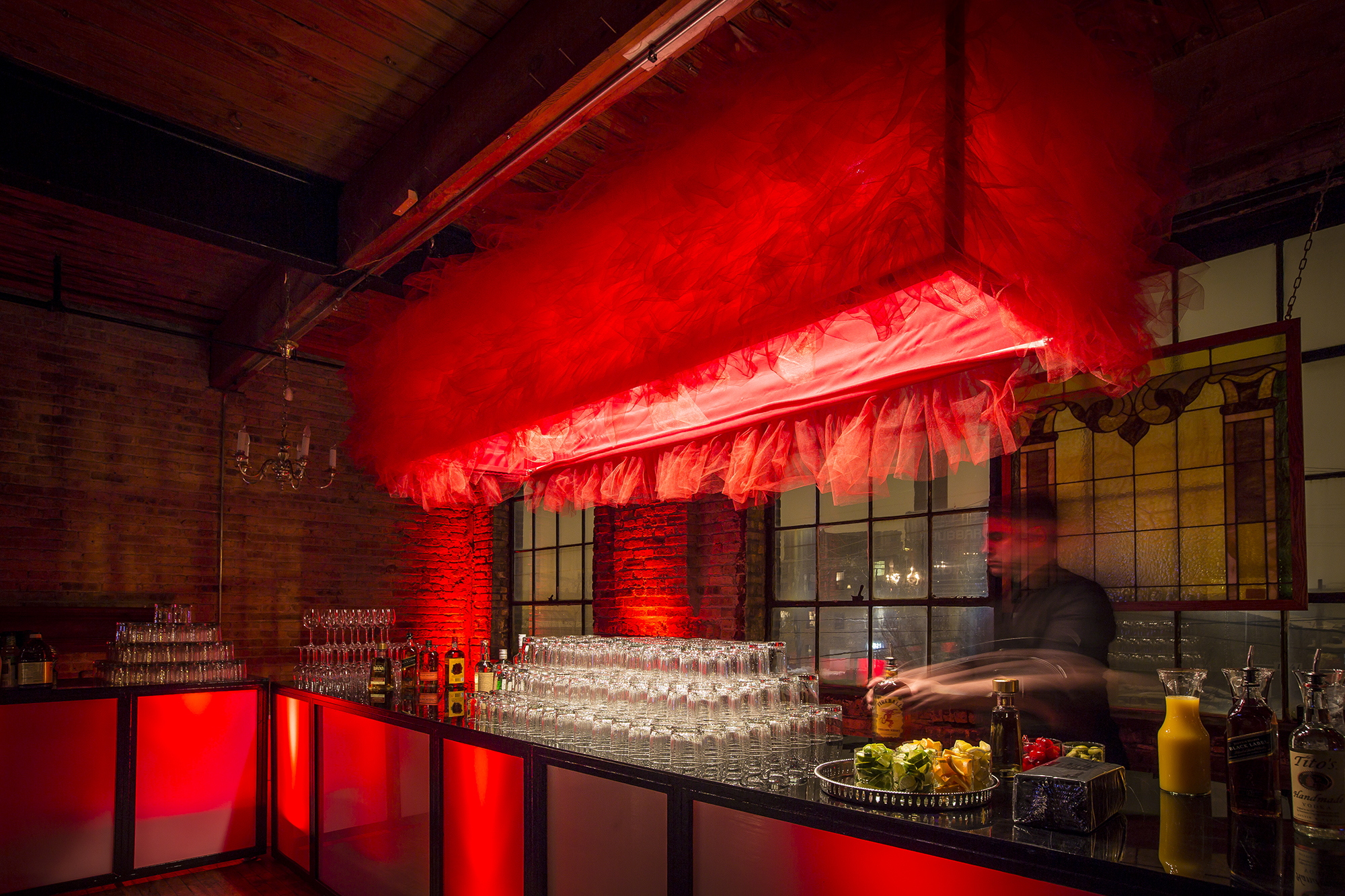 Event Creative - Moulin Rouge Themed Holiday Party - PartySlate