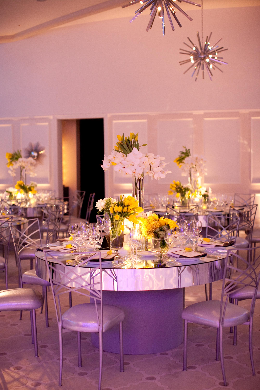Sleek Yellow & White Wedding - Hotel Bel-Air