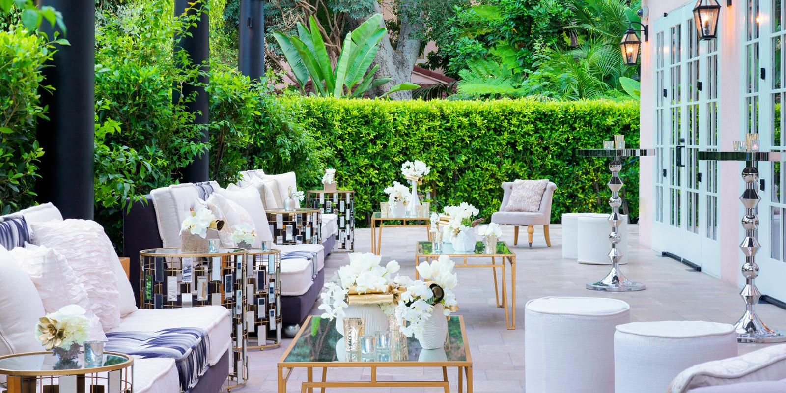 Garden Courtyard - Hotel Bel-Air