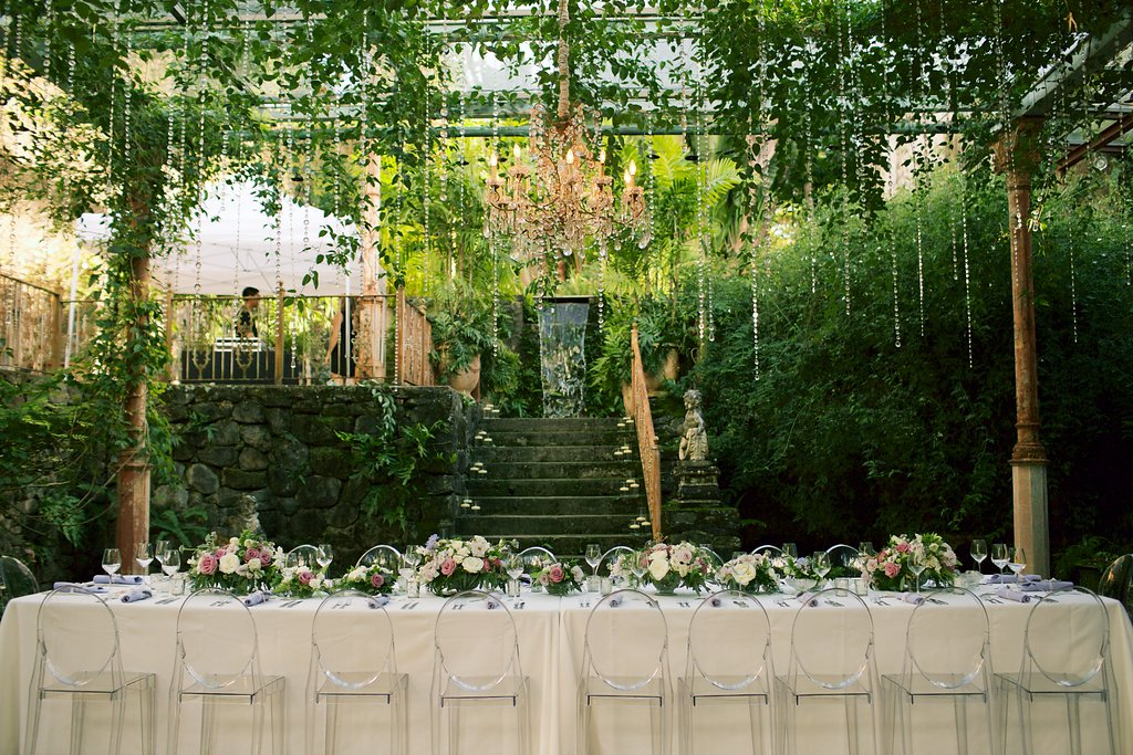 Intimate, Lavender-Infused Tropical Wedding - Elements by K.H & co.