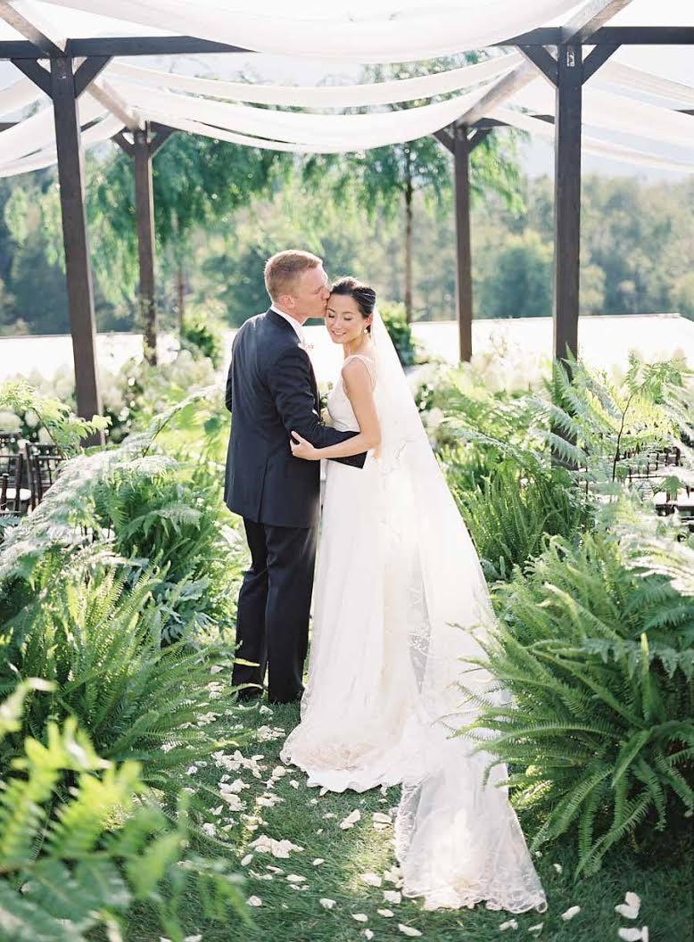 Lovely White Wedding - Beth Helmstetter Events