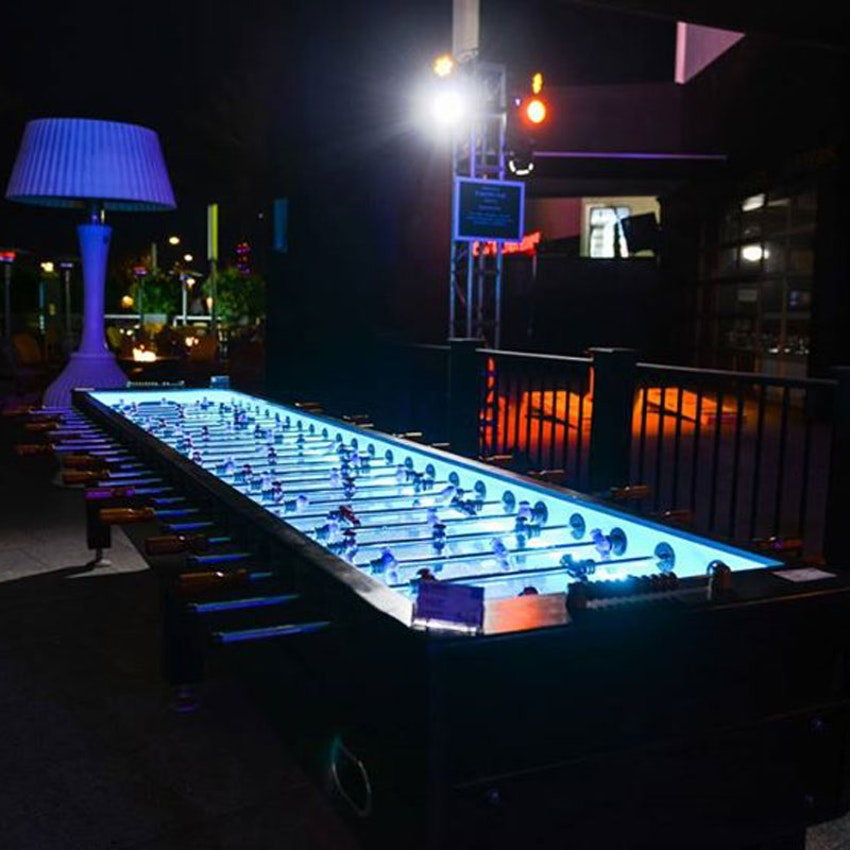 Party Pals LED Giant Foosball Table Players PartySlate - Foosball table light