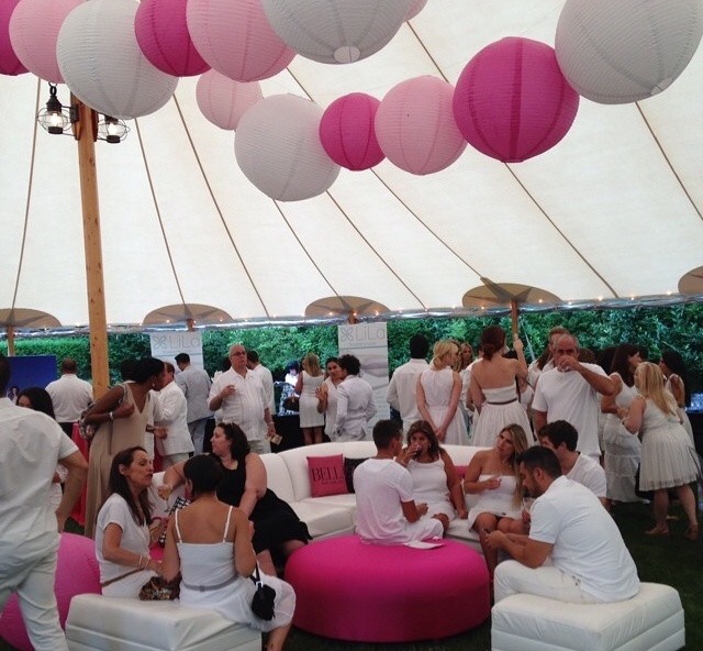BELLA Magazine - Annual White Party in the Hamptons - Kleifield Design & Associates, Inc.
