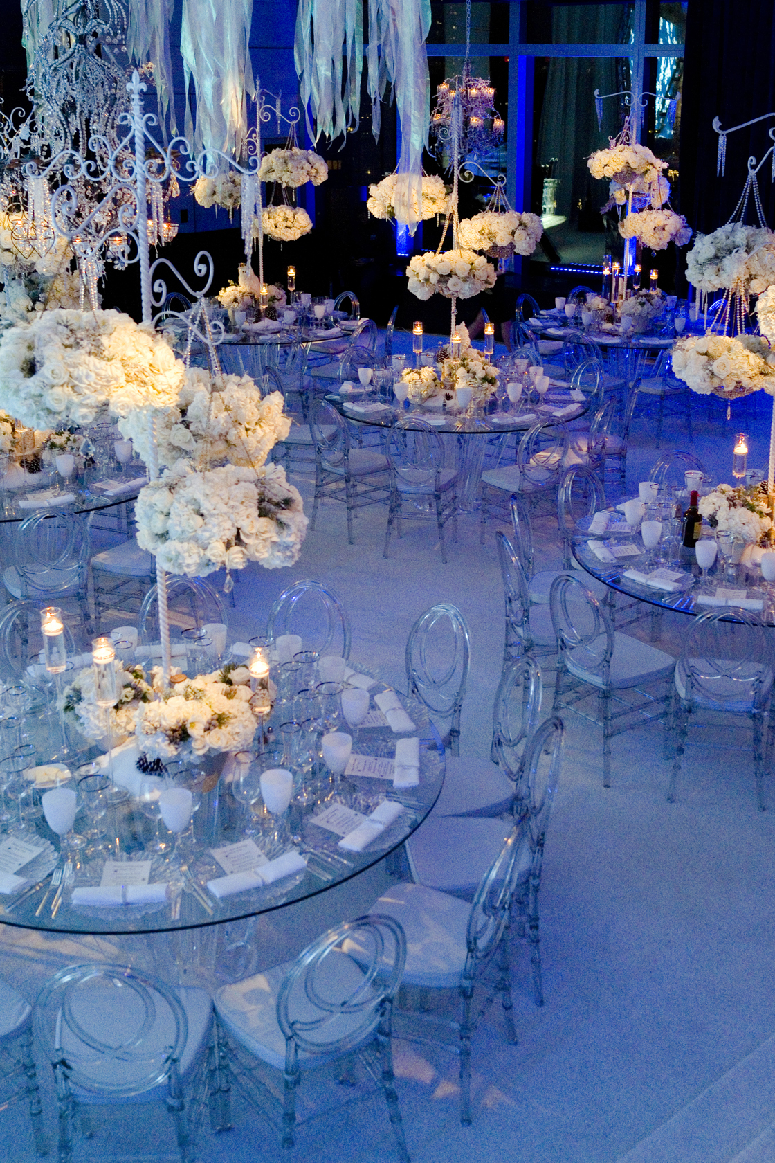 Winter Wonderland 30th Birthday - Marcy Blum Associates