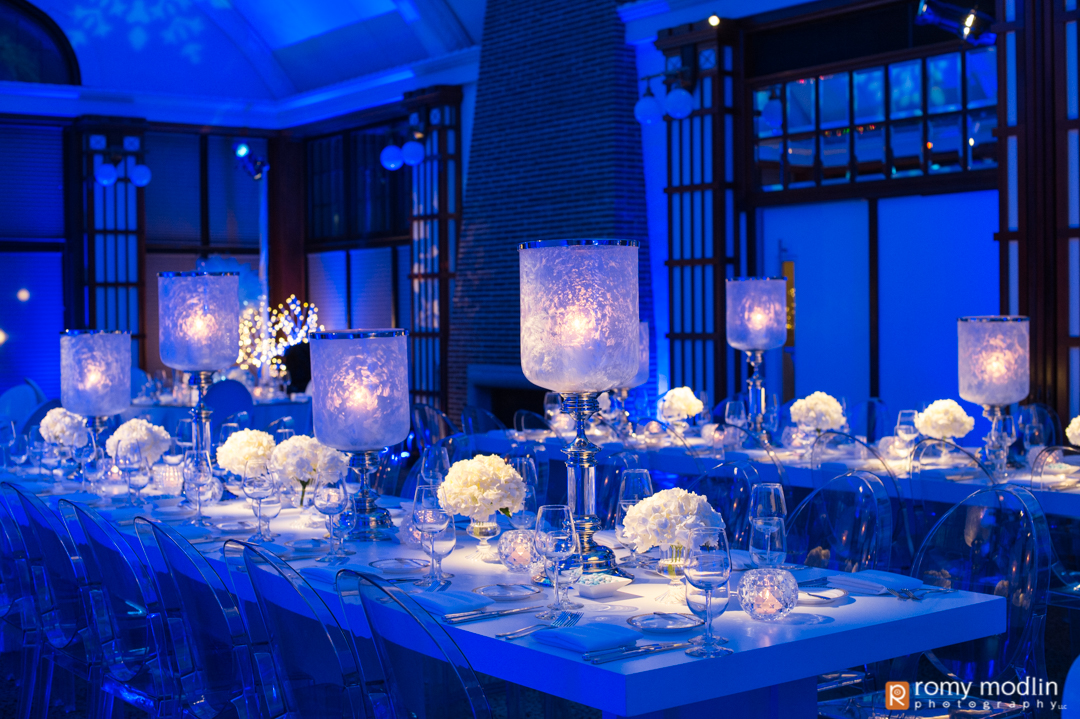 Winter Blue & White Bat Mitzvah - Designer Event Chicago
