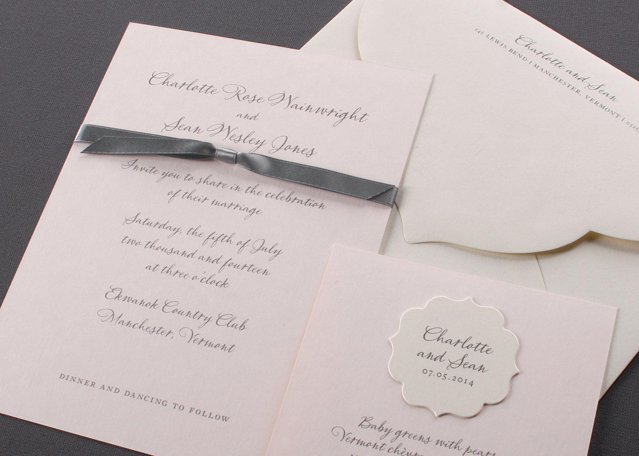 Ashley\'s Custom Stationery & More | Crane & Co. Wedding Invitations ...