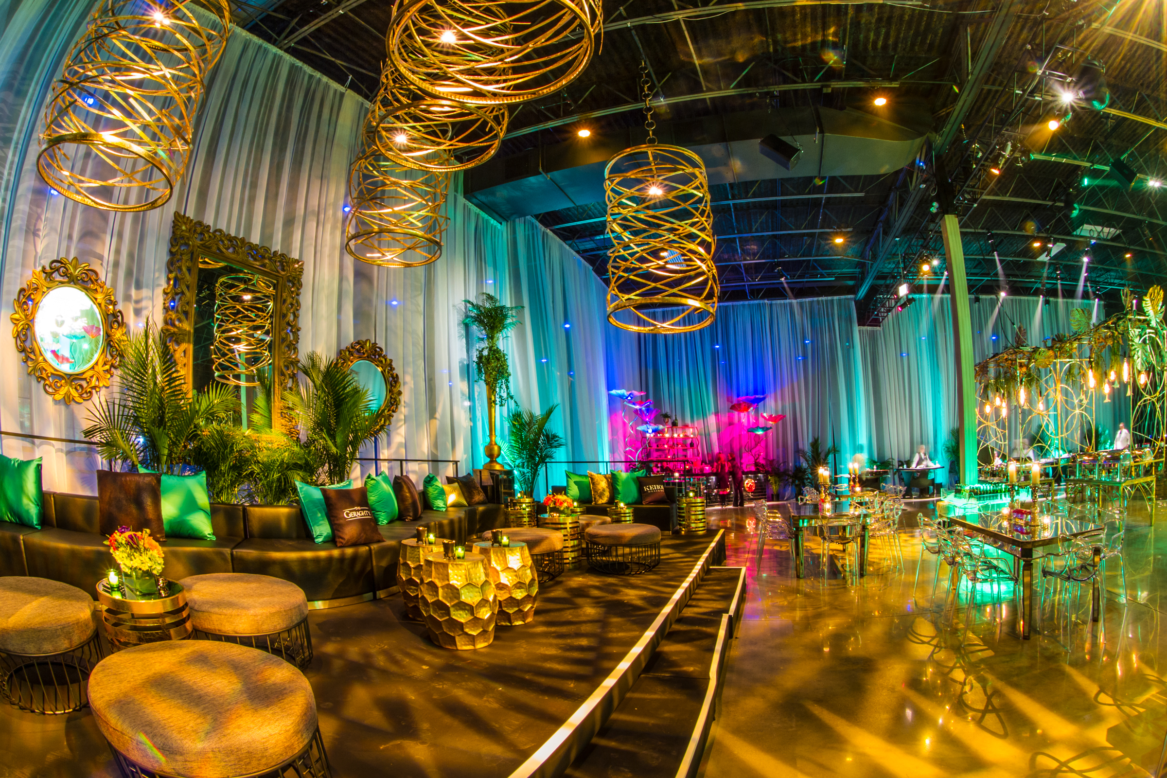 EMERALD CITY-INSPIRED HOLIDAY PARTY AT THE GERAGHTY - Kehoe Designs