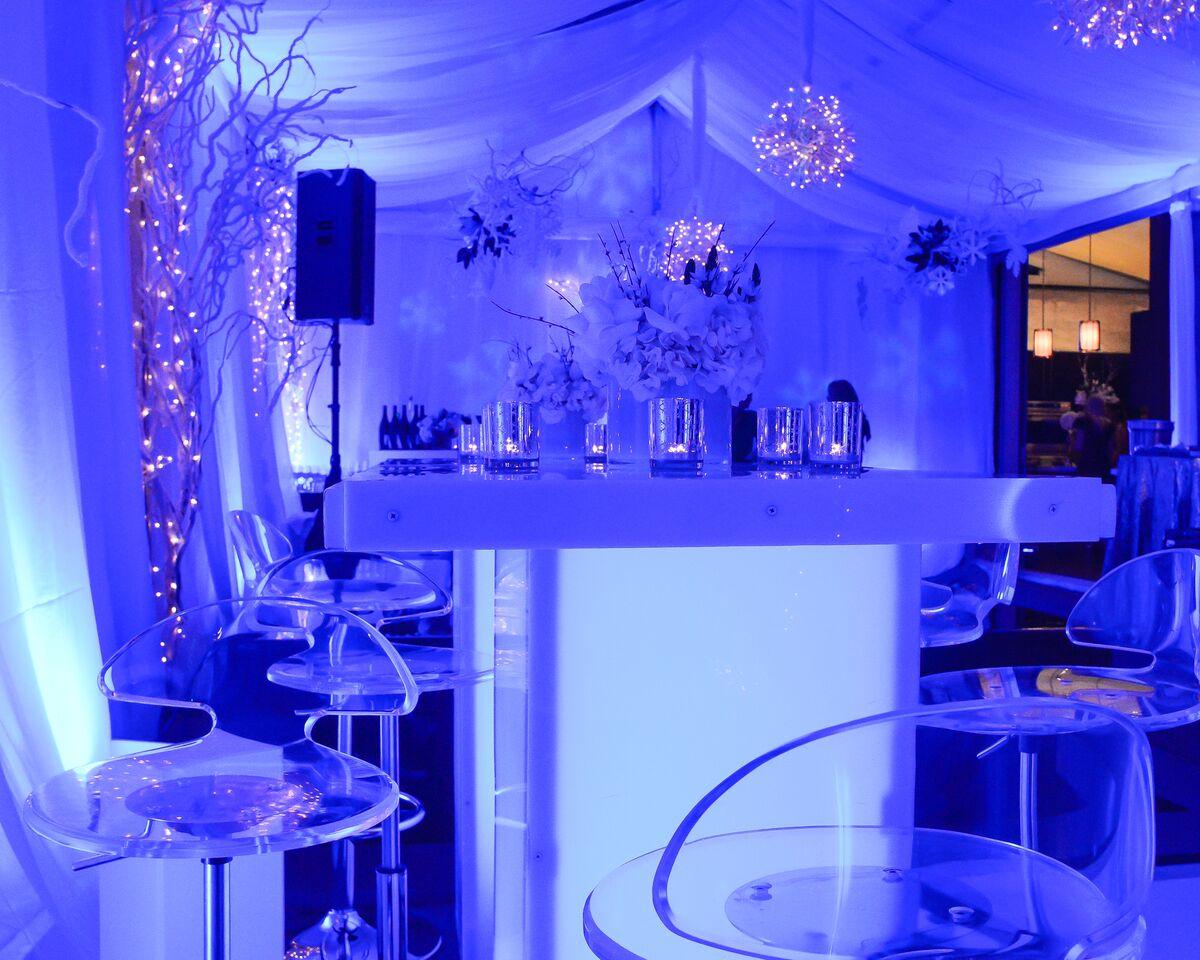Winter Wonderland - Gold Leaf Event Design & Production