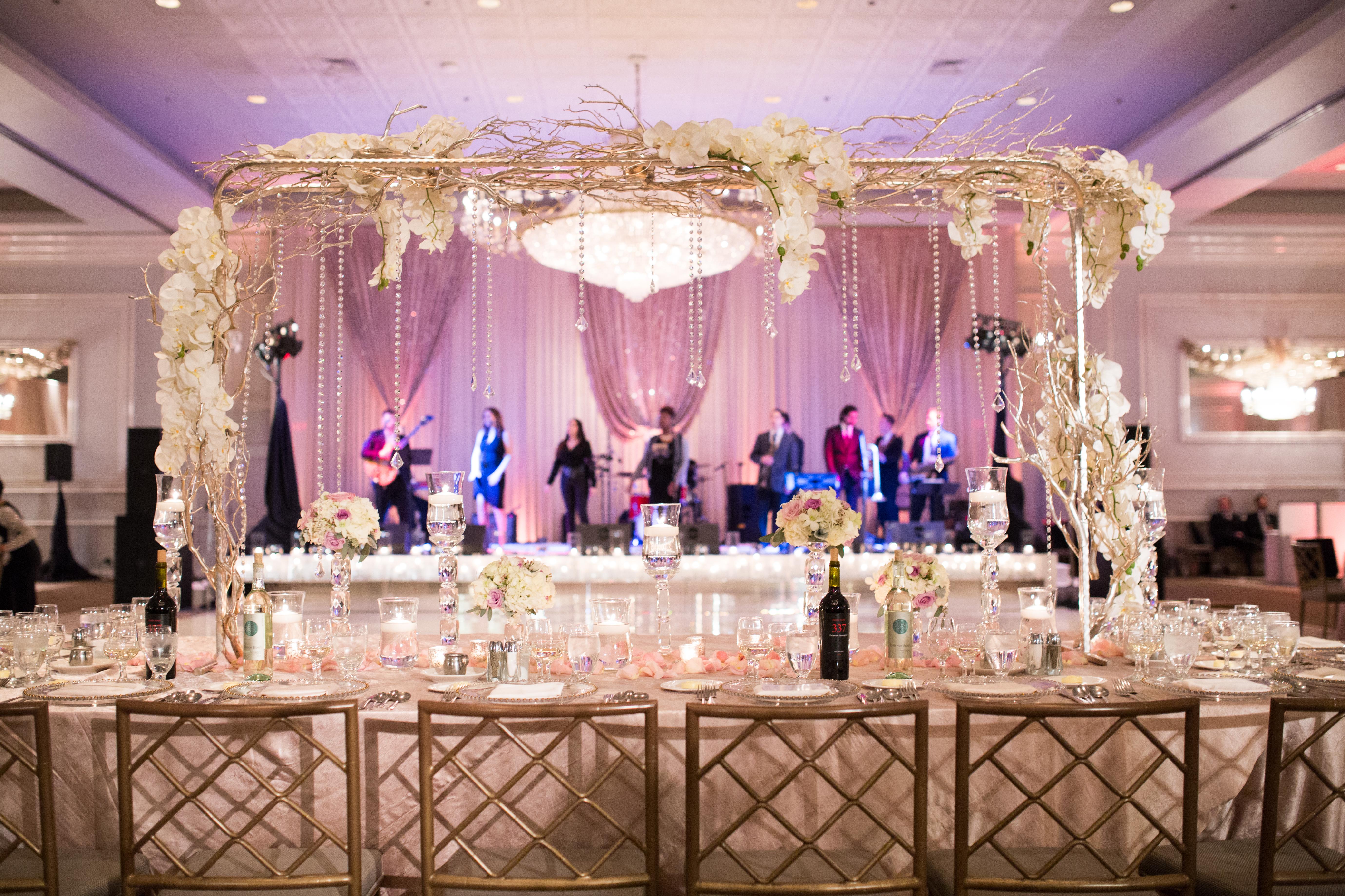 Yanni Design Studio   Reception Decor   PartySlate