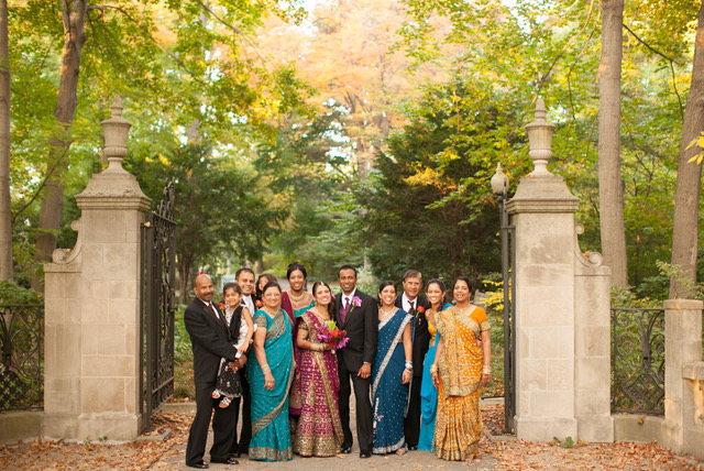 Garden Wedding at the Indianapolis Museum of Art - Utsav Creations