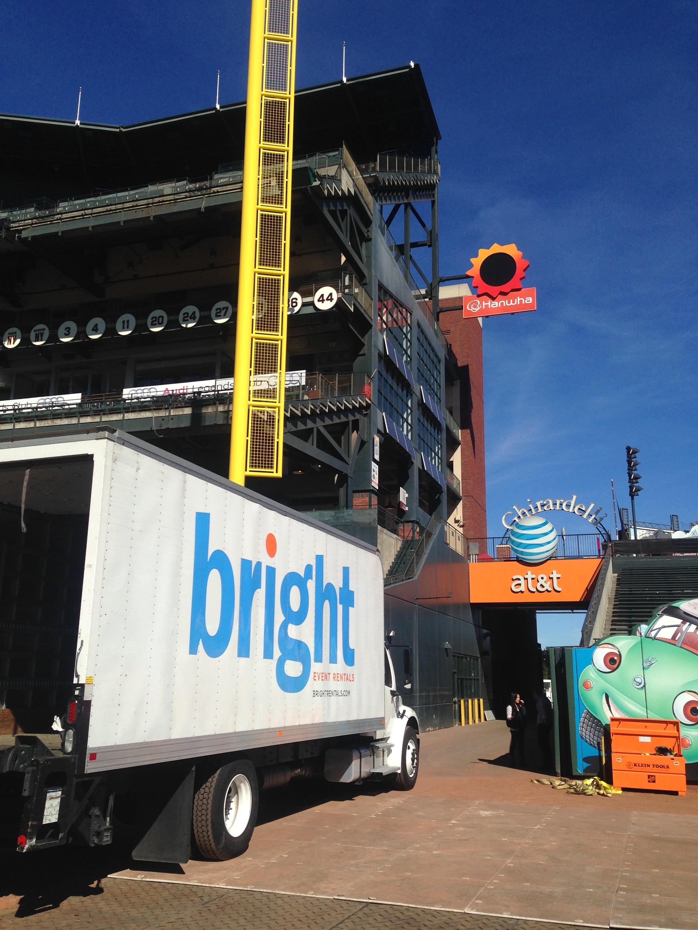AT&T PARK FUNDRAISER - Bright Event Rentals